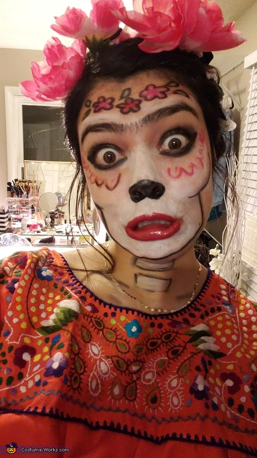 Frida makeup, Coco: Frida and Hector Costume