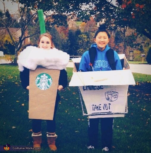 Coffee & Takeout Costume