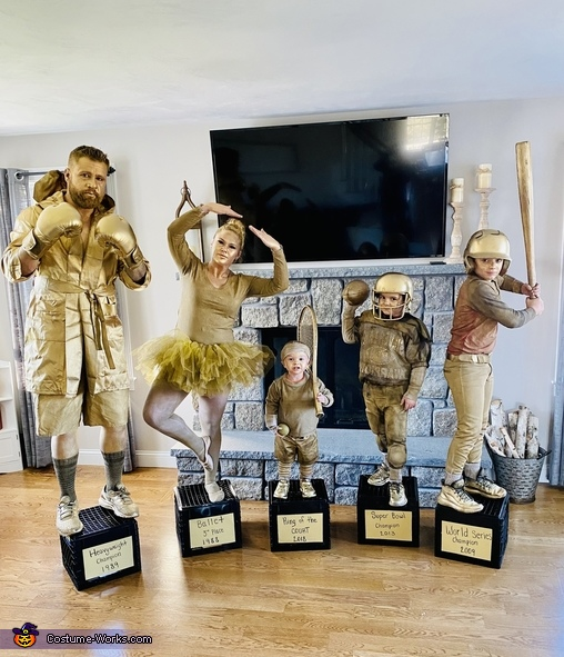 Collection of Trophies Costume