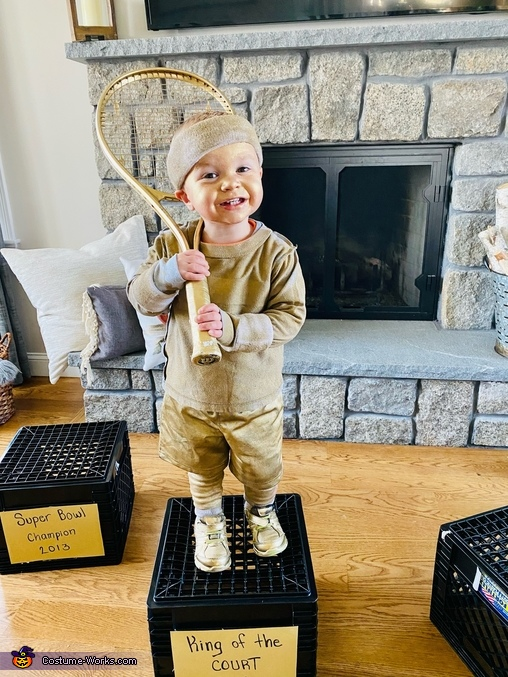 Tennis trophy (youngest son Daniel Jr.), Collection of Trophies Costume