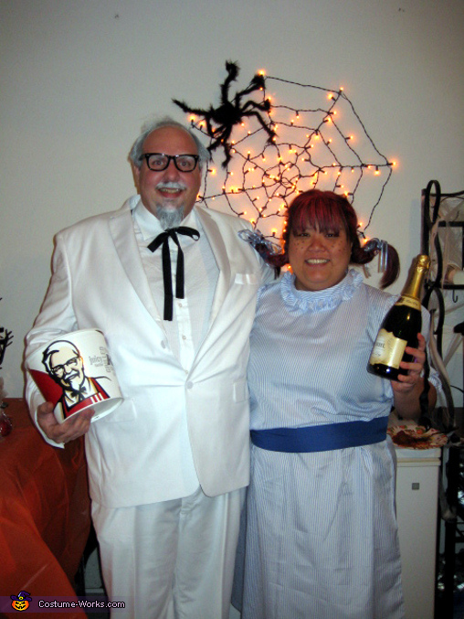 Colonel Sanders and Wendy Couple Costume