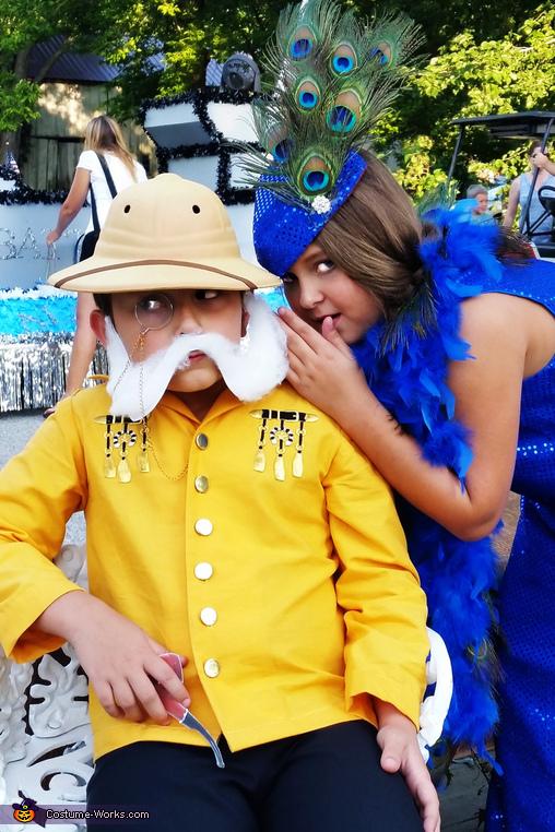 Colonel Mustard & Mrs. Peacock Costume