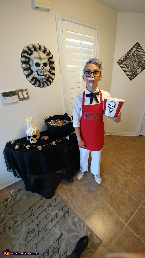 Colonel Sanders Homemade Costume