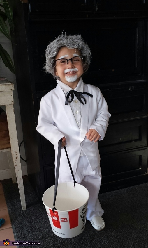 Colonel Sanders Boy's Halloween Costume