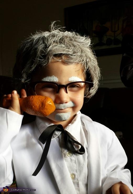 Colonel Sanders Boy's Halloween Costume