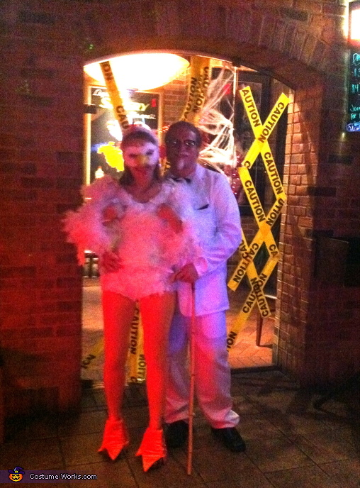 Happy Halloween!, Colonel Sanders and his Chick Couple Costume