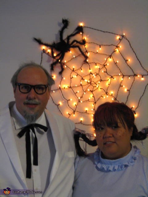 Colonel Sanders and Wendy Costume