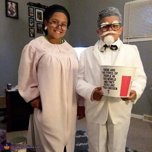 Colonel Sanders and Wife Costume