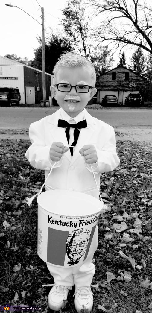 Colonel Sanders Jr. Homemade Costume