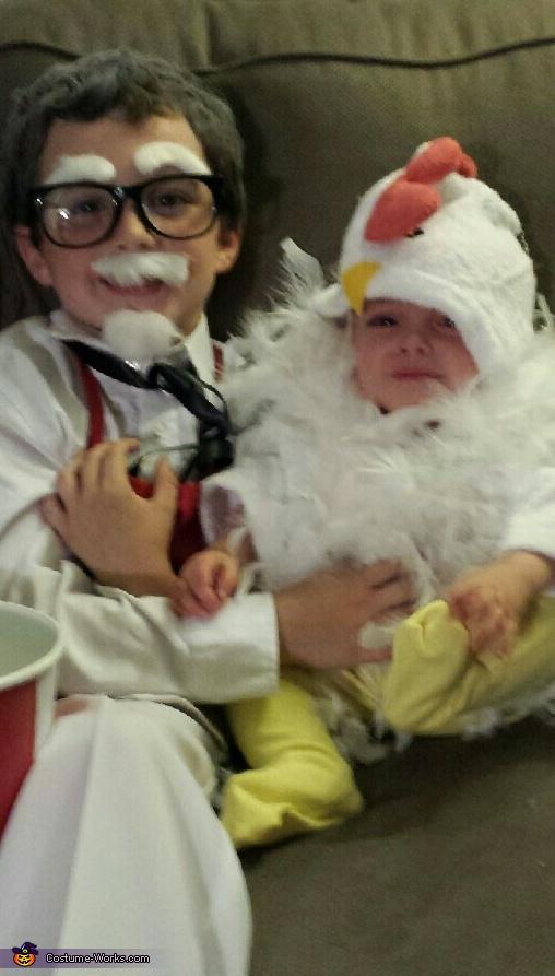 Colonel Sanders & Extra Crispy Chicken Costume