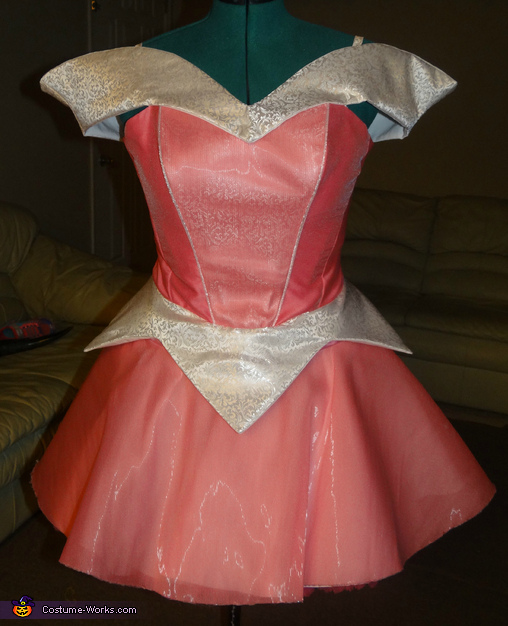Color Changing Princess Aurora Costume