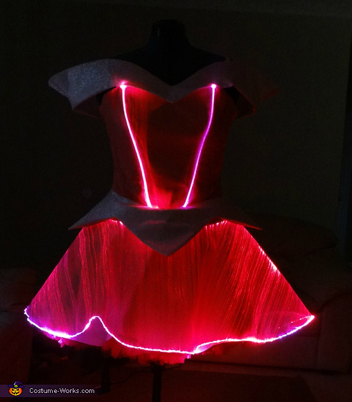 Color Changing Princess Aurora Dress