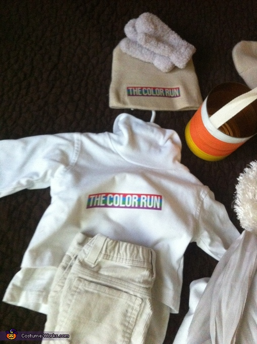 The Clothing, Color Runners Costume