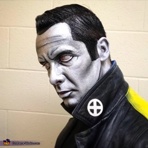Face detail, Colossus Costume
