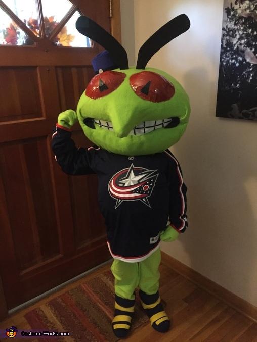 Columbus Blue Jackets Stinger Mascot Costume