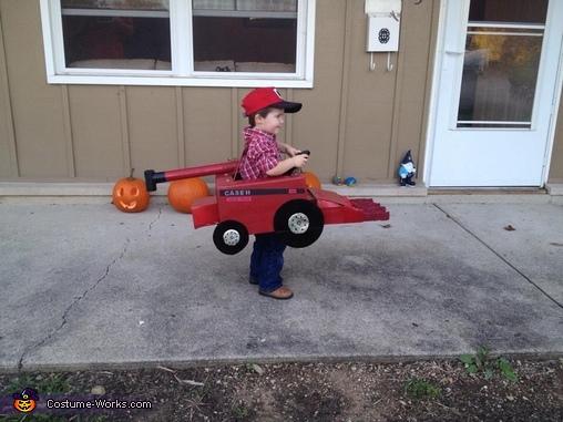 Combine Tractor Costume