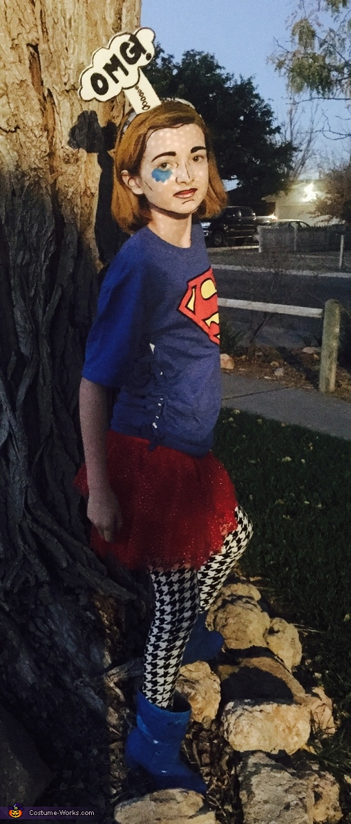 Comic Girl Costume
