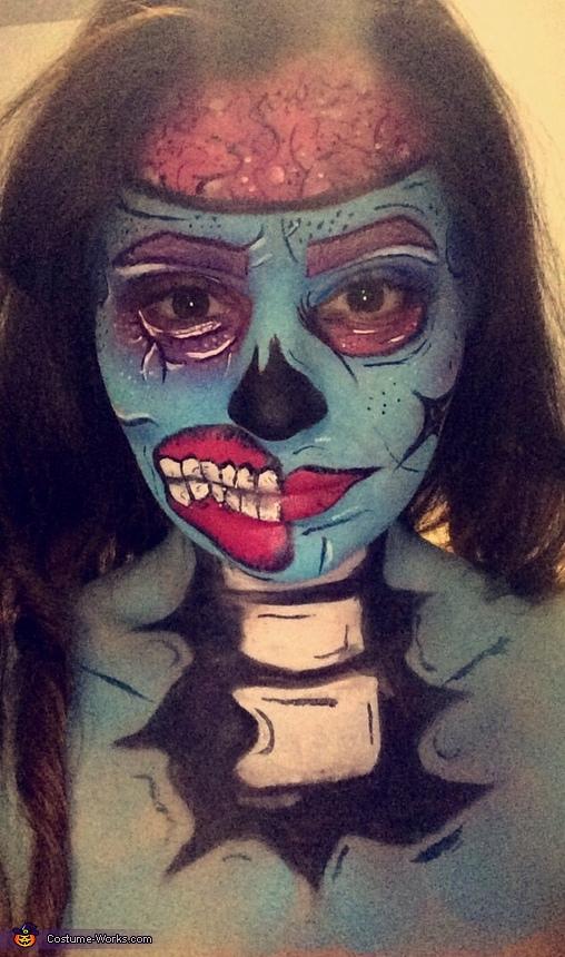 Comic Zombie Costume