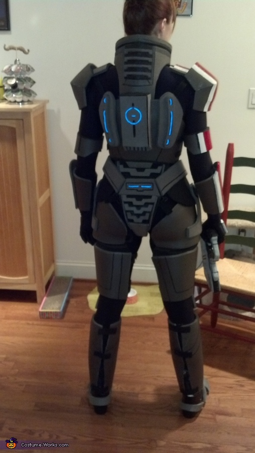 Commander Shepard from Mass Effect Costume