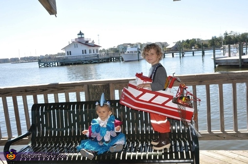 Fish and scallop boat, Commercial Fishermen and Friends Family Costume