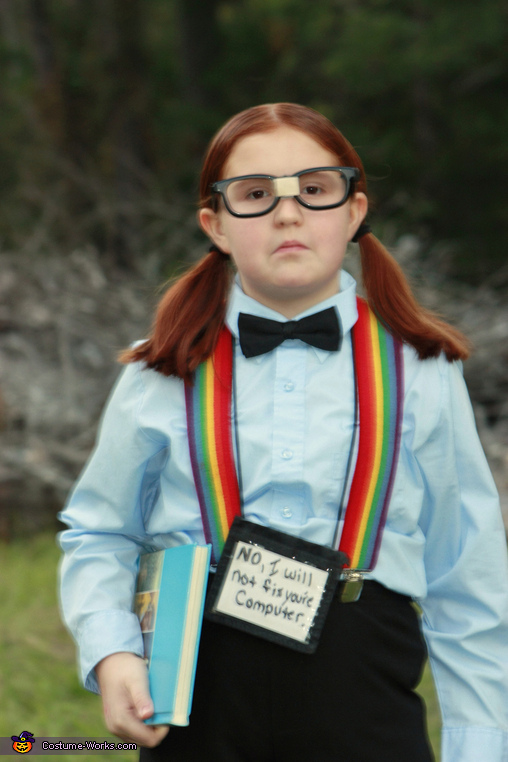 Playful Nerdy Costume, sexy playful nerdy costume, school ...