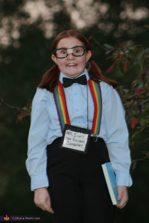 Computer Nerd Homemade Costume