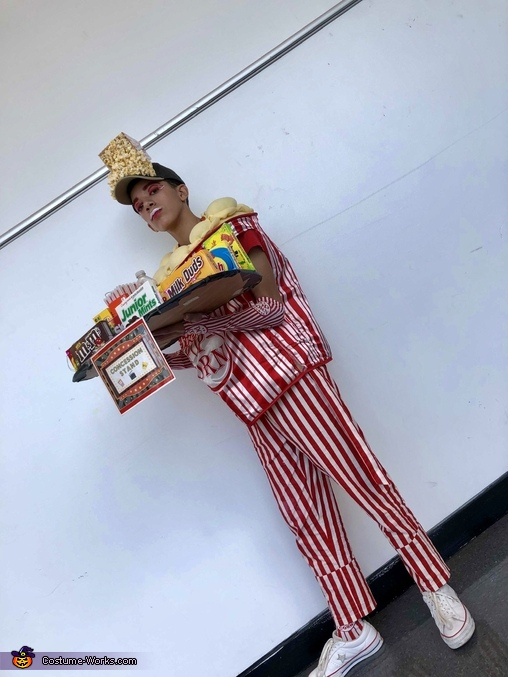 This is another photo of the full costume, Concession Stand Costume