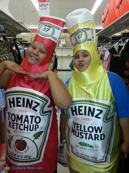 Condiments anyone?, Concession Stand Family Costume