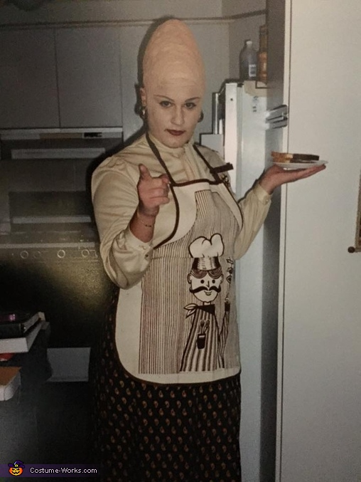 Conehead Mom Costume