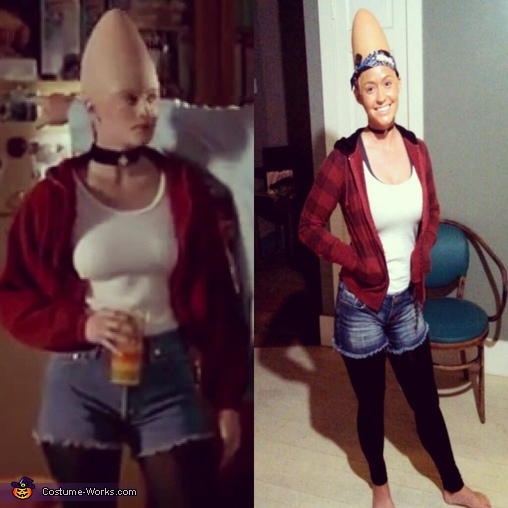 Connie and Beldar Coneheads Homemade Costume