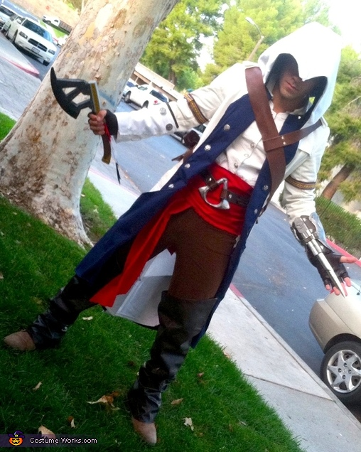 Connor Kenway Assassin S Creed Iii Costume Diy Costumes Under 45