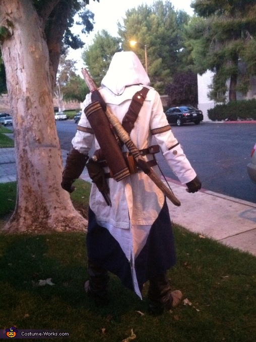 The back!, Connor Kenway Assassin's Creed III Costume