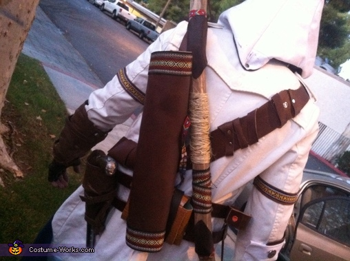 The back with even more detail!, Connor Kenway Assassin's Creed III Costume