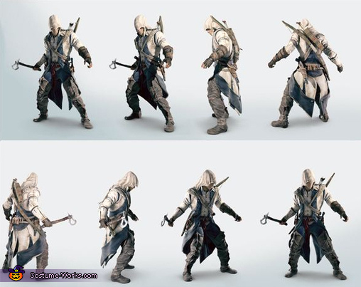 What the costume was based on., Connor Kenway Assassin's Creed III Costume