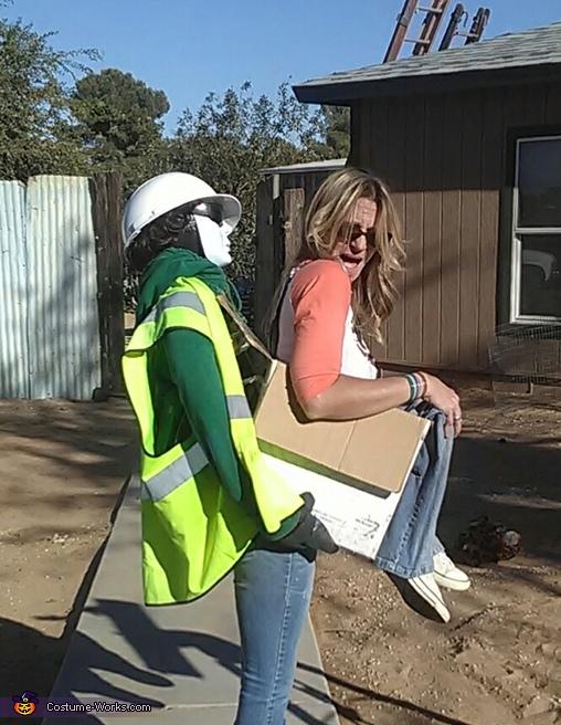 Construction Zone Costume