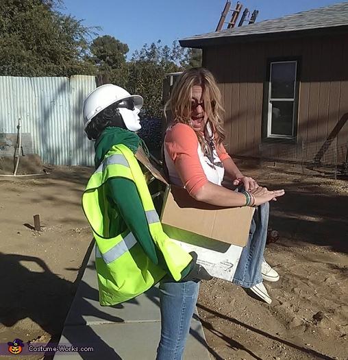 Construction zone, Construction Zone Costume