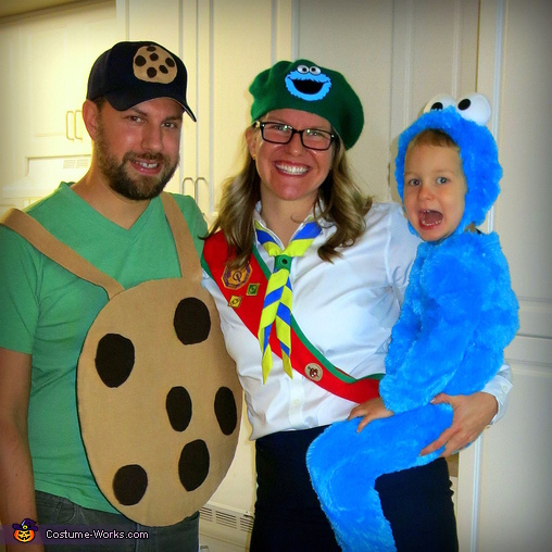 Cookie Addiction Family Costume