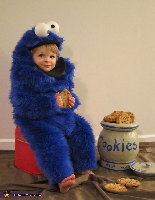 Cookie Monster Baby Costume