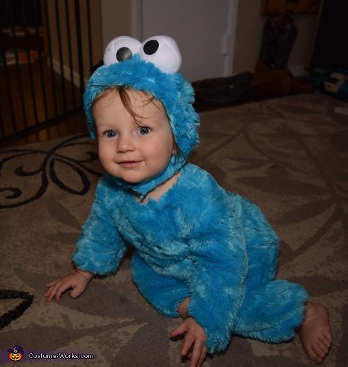 Cookie Monster Toddler Costume 37f92bda8280