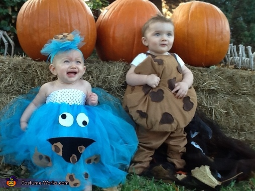 Cookie & Cookie Monster Baby Costumes