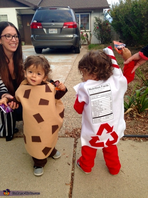 The back side, Cookies & Milk Costume