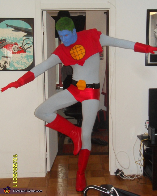 Ready for flight, Captain Planet Costume