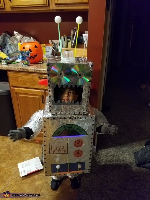Cool Robot Homemade Costume