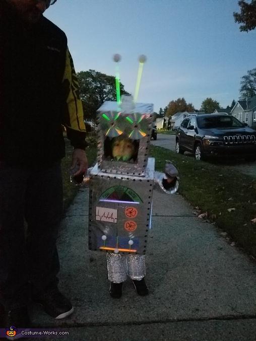 Cool Robot Homemade Costume