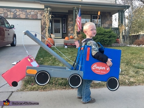 Cooper's Towing Service Costume