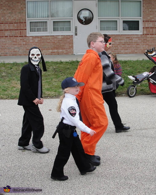 Cop and Convict Costume