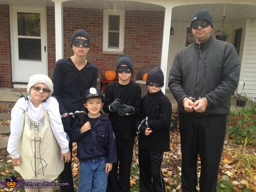 Cop and Robbers Costume