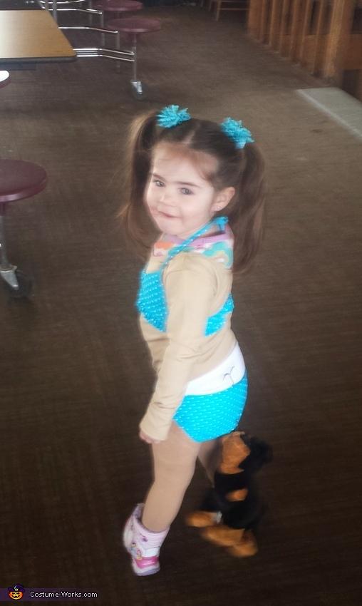 Coppertone Girl Costume