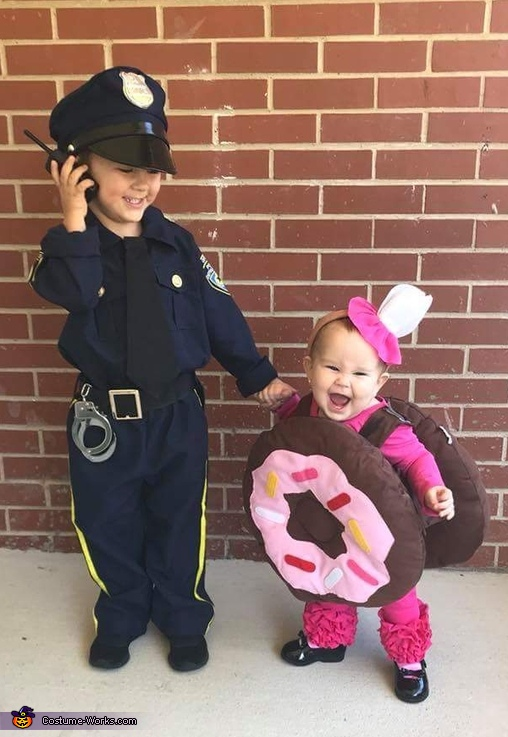 Cops Loves Donuts Costume