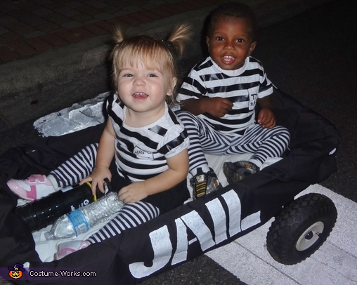 Cutest Jailbirds Ever!, Cops & Robbers Costume